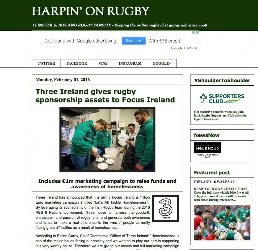 Ireland Rugby players support Focus Irl, Press Photographers, Corporate PR Photographer, 1image.ie