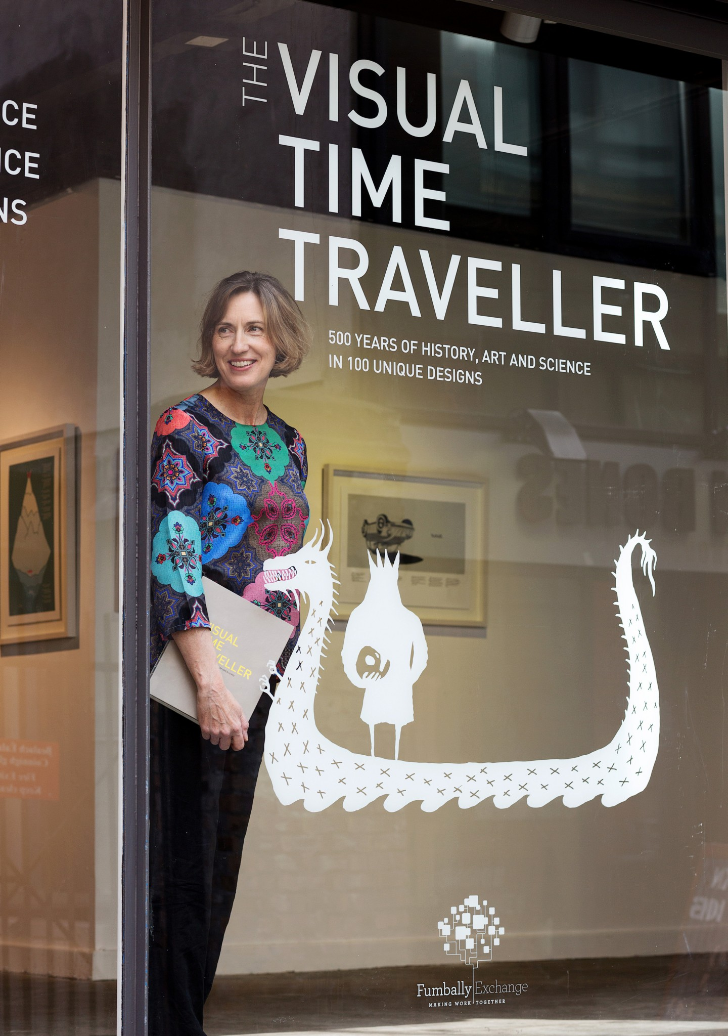 THE VISUAL TIME TRAVELLER - EXHIBITION & POPUP SHOP PHOTOCALL Press Photography, PR Photography, www.1image.ie
