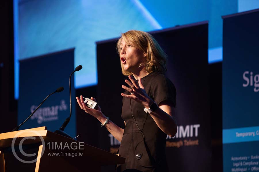 Event Photographer Speaker at The Talent Summit 2017 The CCD www.eventimage.ie