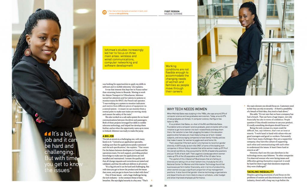 Gemalto Interview Editorial Corporate Profile Photography www.1image.ie