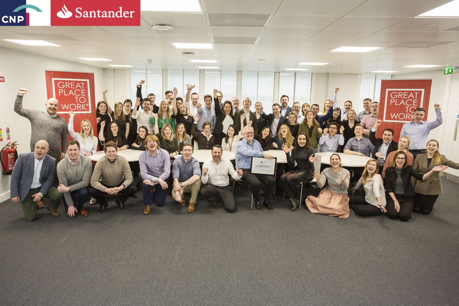 Corporate Group Shots: Ireland's Best Workplaces 2018 www.1image.ie