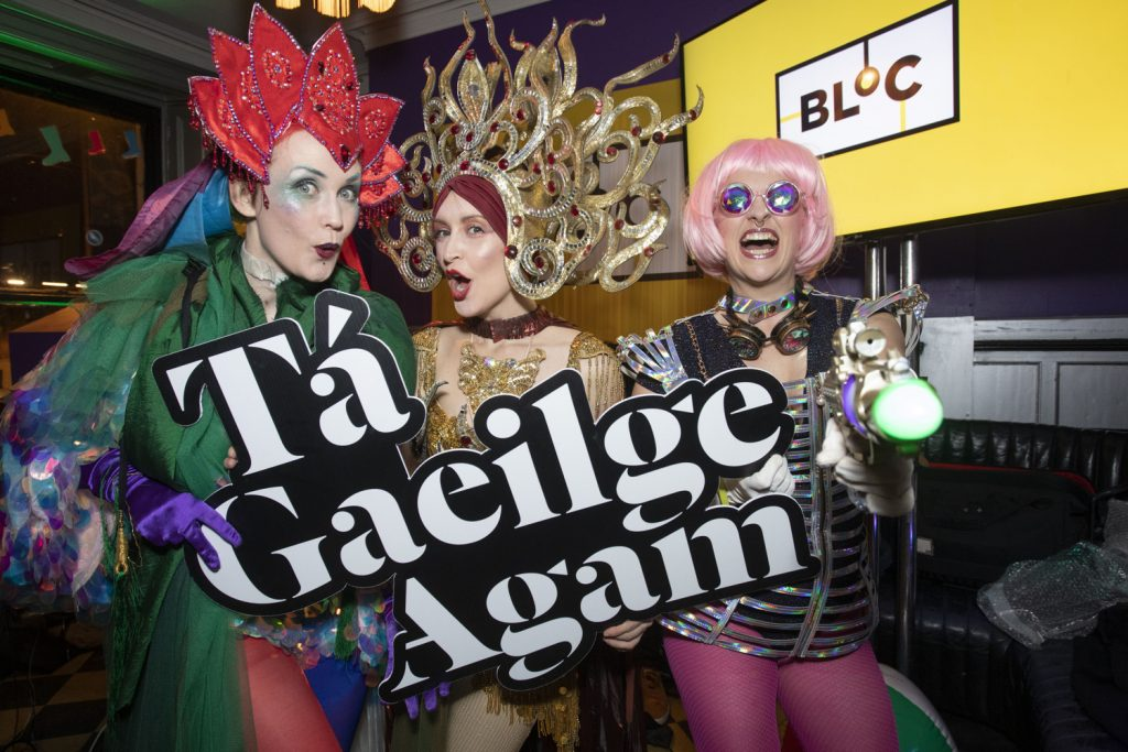 TG4 launch party for new digital hub BLOC press pr photocall photographer dublin www.1image.ie