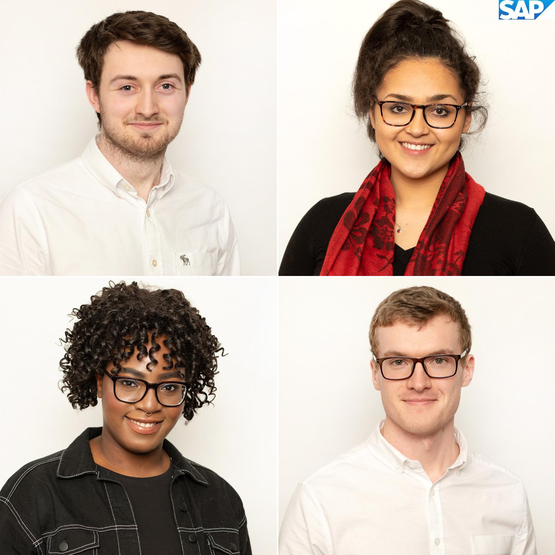 SAP Interns Headshots Corporate Portrait Photographers Dublin www.1image.ie