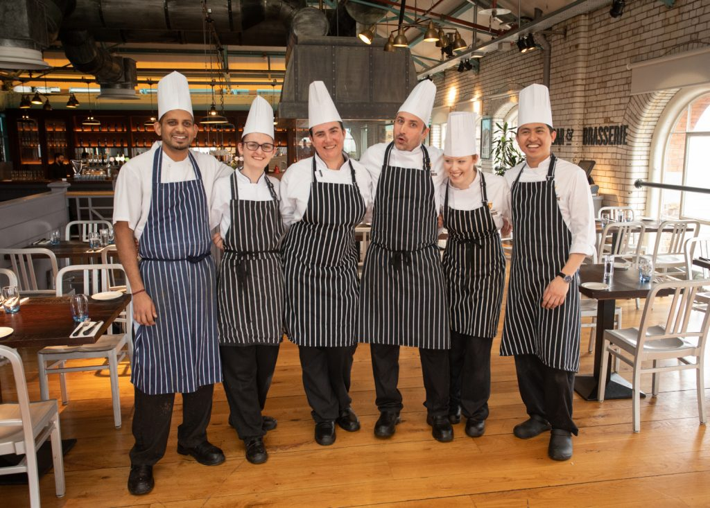 Chefs at Guinness Storehouse Dublin. Commercial Food & Drink Photography www.1mage.ie
