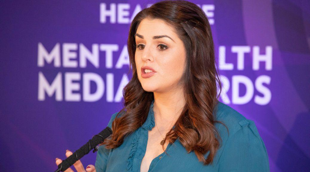 Sile Seoige Awards Photographer Dublin Headline Mental Health Media Awards 2019