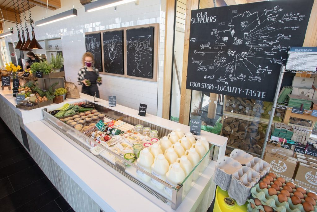 Airfield Estate and Overend's bakery Farm Shop PR Photography of fresh farm produce