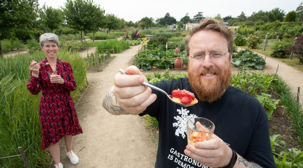 Chef JP McMahon launches Food On The Edge 2021 in Airfield Estate Press PR Photocall Photographer